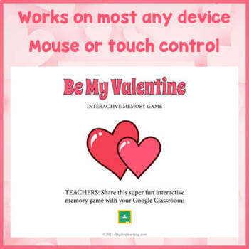 Valentine's Day Game for PC and Smartboard Fun