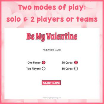 Valentine's Day Game for PC and Smartboard Fun