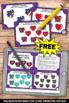 FREE Valentine's Day Kindergarten Math Centers Subtraction