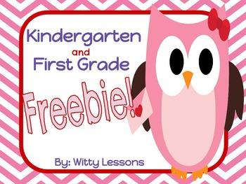 free valentine 39 s day worksheets kindergarten and first. Black Bedroom Furniture Sets. Home Design Ideas