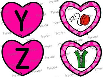 Valentine's Day Freebie: Letter Sound Matching