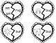 Valentine's Day CVC Puzzles Center