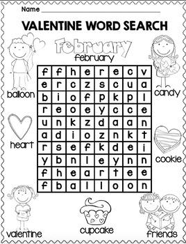 Valentine's Day Freebie by Kinder League