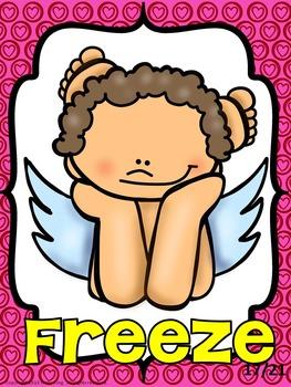 Valentine's Day Freeze Dance and Creative Movement