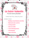 Valentine's Day French Booklet - La Saint Valentin (French/FSL)