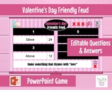 Valentine's Day Friendly Feud - Interactive PowerPoint Game