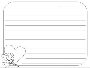 Valentine's Day Friendly Letter