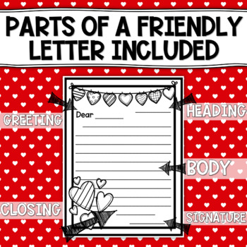 Valentine's Day Friendly Letter Templates (((20 PAGES)))