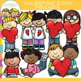 Valentine's Day Friends Clip Art
