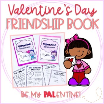 Valentine's Day Friendship Activity Book