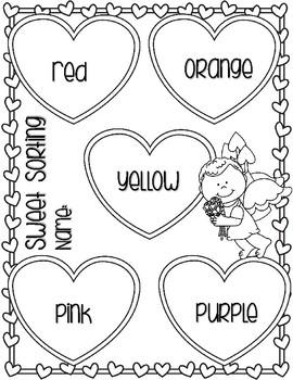 Valentine's Day Fruit Snack Graph