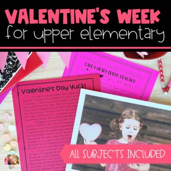 Valentine's Day Activities for All Subjects
