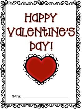 Valentine's Day Fun Packet