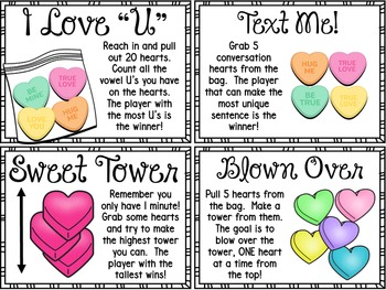 Valentine's Day ~ Fun with Candy Hearts