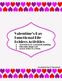 Valentine's Day: Functional File Folder Activities