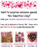 Valentine's Day Fundraiser - Flyer & Order Form