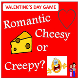 Valentine's Day Activity - DISCUSSION GAME! Romantic, Chee