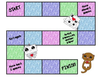 Valentine's Day Game Boards