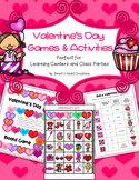Valentine's Day Games & Activities (Learning Centers or Pa