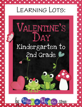 Valentine's Day Games and Activities for Kindergarten, First, and Second Grades