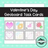 Valentine's Day Geoboard Task Cards