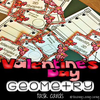 Valentines Day Geometry Teaching Resources Teachers Pay Teachers