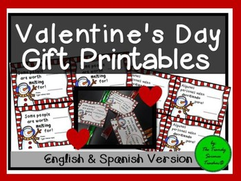 Valentine's Day Gift Printable (English & Spanish)