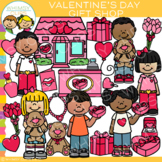 Valentine's Day Gift Shop Clip Art