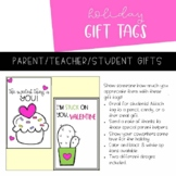 Valentine's Day Gift Tag | Printable | B&W | Color