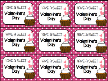 Valentine's Day Gift Tag and Homework Pass (Have a sweet Valentine's Day!)