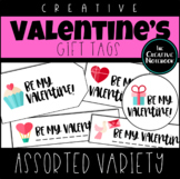 Valentine's Day Gift Tags | Assorted Vol 1 | Holiday Gift Tags | Editable Sender
