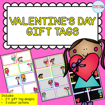 Valentine's Day Gift Tags EDITABLE