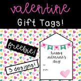 Valentine's Day Gift Tags Freebie