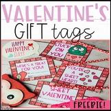 Valentine's Day Gift Tags - Freebie