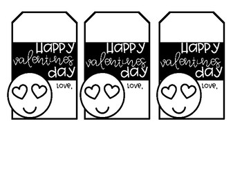 Valentine's Day Gift Tags and Cards