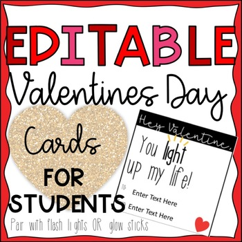Valentine's Day Gift for Students--You Light Up My Life--