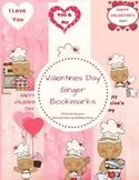 Valentine's Day Ginger Bookmarks