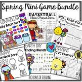 Spring Phonics Games Bundle