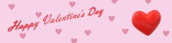 Valentine's Day Google Classroom Theme