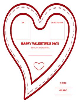 Valentine's Day Graphic Organizers