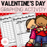 Valentine's Day Graphing Candy Hearts Activity