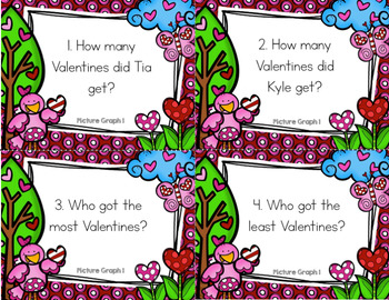 Valentine's Day Graphing Task Cards