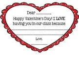 Valentine's Day Gratitude Cards - Bilingual
