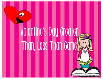 Valentine's Day Greater Than, Less Than