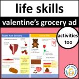 Valentine's Day Grocery Activities
