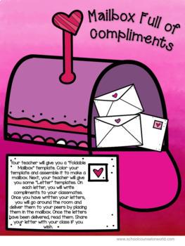 Valentine's Day Guidance Lesson on Building Self-Esteem, Grades 2-3