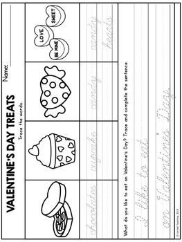 Valentine's Day Handwriting Lessons (Cursive Edition)