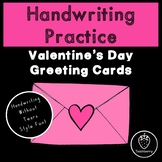 Valentine's Day Handwriting Practice with Handwriting With