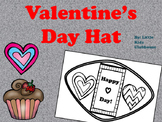 Valentine's Day Hat! In B&W and color