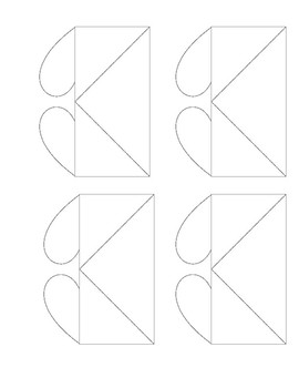 Valentine's Day Heart Bookmark (Page Corner Bookmark)
